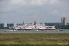 RED FALCON READ EAGLE Passing Southampton Water PDM 17-06-2016 12-19-16