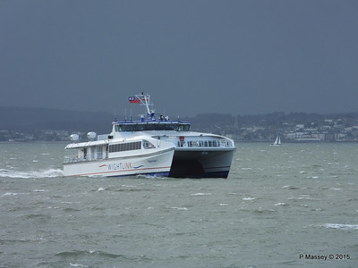 WIGHT RYDER I Approaching Portsmouth PDM 15-01-2015 13-04-39