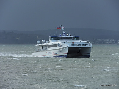 WIGHT RYDER I Approaching Portsmouth PDM 15-01-2015 13-04-29