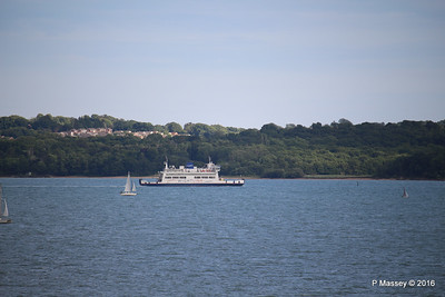 ST CECILIA Approaching Fishbourne IOW PDM 13-07-2016 18-39-32