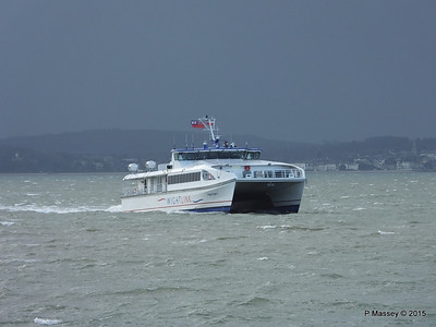 WIGHT RYDER I Approaching Portsmouth PDM 15-01-2015 13-04-35