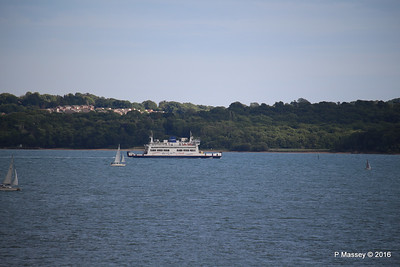 ST CECILIA Approaching Fishbourne IOW PDM 13-07-2016 18-39-33