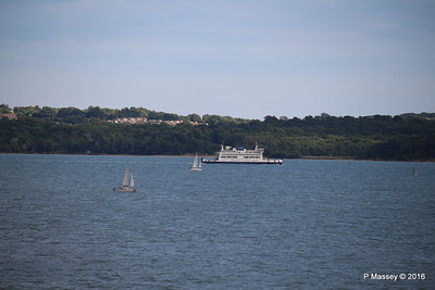 ST CECILIA Approaching Fishbourne IOW PDM 13-07-2016 18-39-37