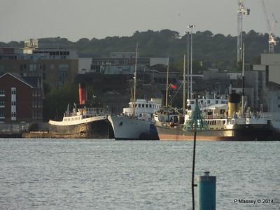 TUG TENDER CALSHOT SHEMARA ss SHIELDHALL Southampton PDM 20-06-2014 20-07-44