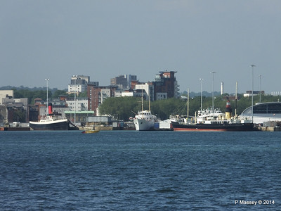 TUG TENDER CALSHOT SHEMARA ss SHIELDHALL Southampton PDM 19-06-2014 16-45-45