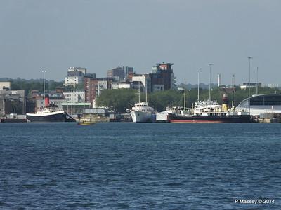 TUG TENDER CALSHOT SHEMARA ss SHIELDHALL Southampton PDM 19-06-2014 16-45-48