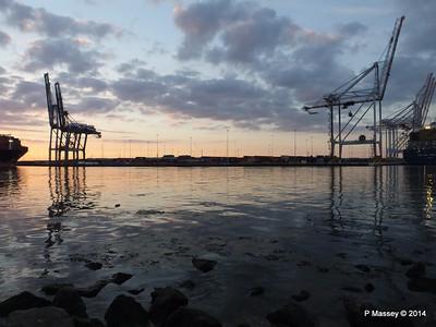 Southampton Docks at Sunset PDM 21-06-2014 21-19-37