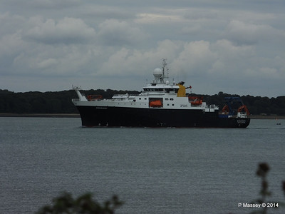 24 Aug 2014 RRS DISCOVERY Inbound