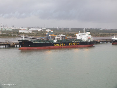 2012 Tankers at Fawley Refinery Jetty & Hamble Jetty