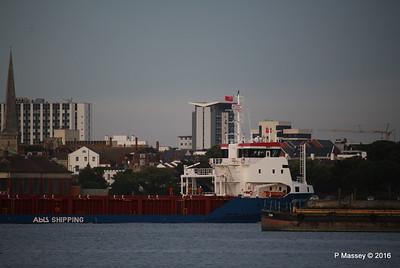 ABIS BELFAST Departing Southampton PDM 01-09-2016 20-11-46