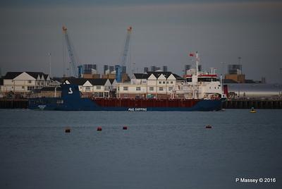 ABIS BELFAST Departing Southampton PDM 01-09-2016 20-13-17
