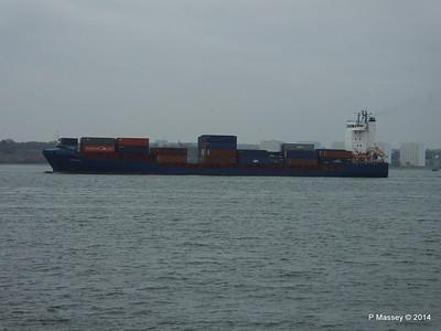 20 Nov 2014 CANOPUS Inbound Southampton