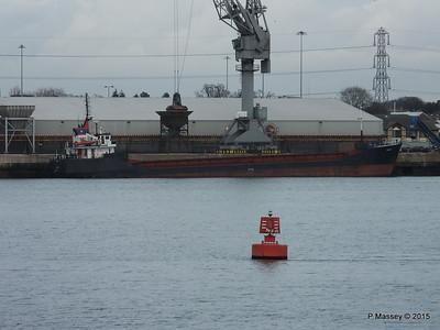 2 Feb 2014 EAGLE Loading Southampton