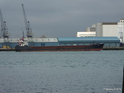 3 Feb 2015 EAGLE Outbound Southampton