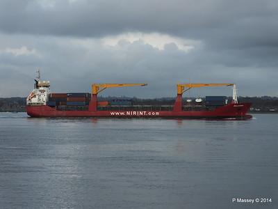15 Nov 2014 HOLLANDIA Outbound Southampton