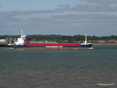 HUELIN DISPATCH Departing Southampton PDM 09-06-2013 17-30-25
