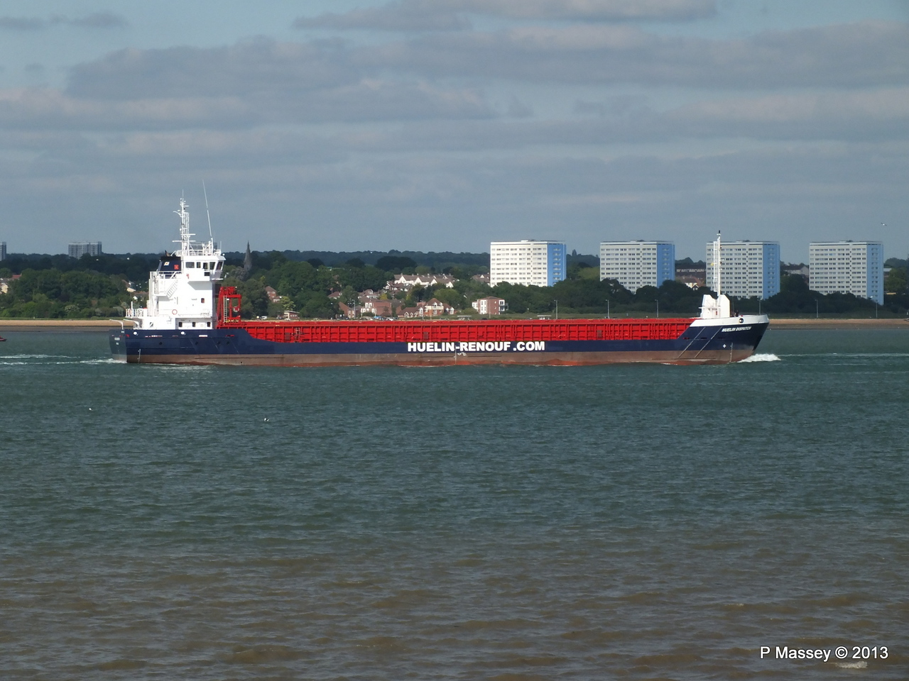 HUELIN DISPATCH Departing Southampton PDM 09-06-2013 17-30-55