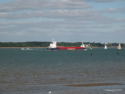 HUELIN DISPATCH Departing Southampton PDM 09-06-2013 17-31-50