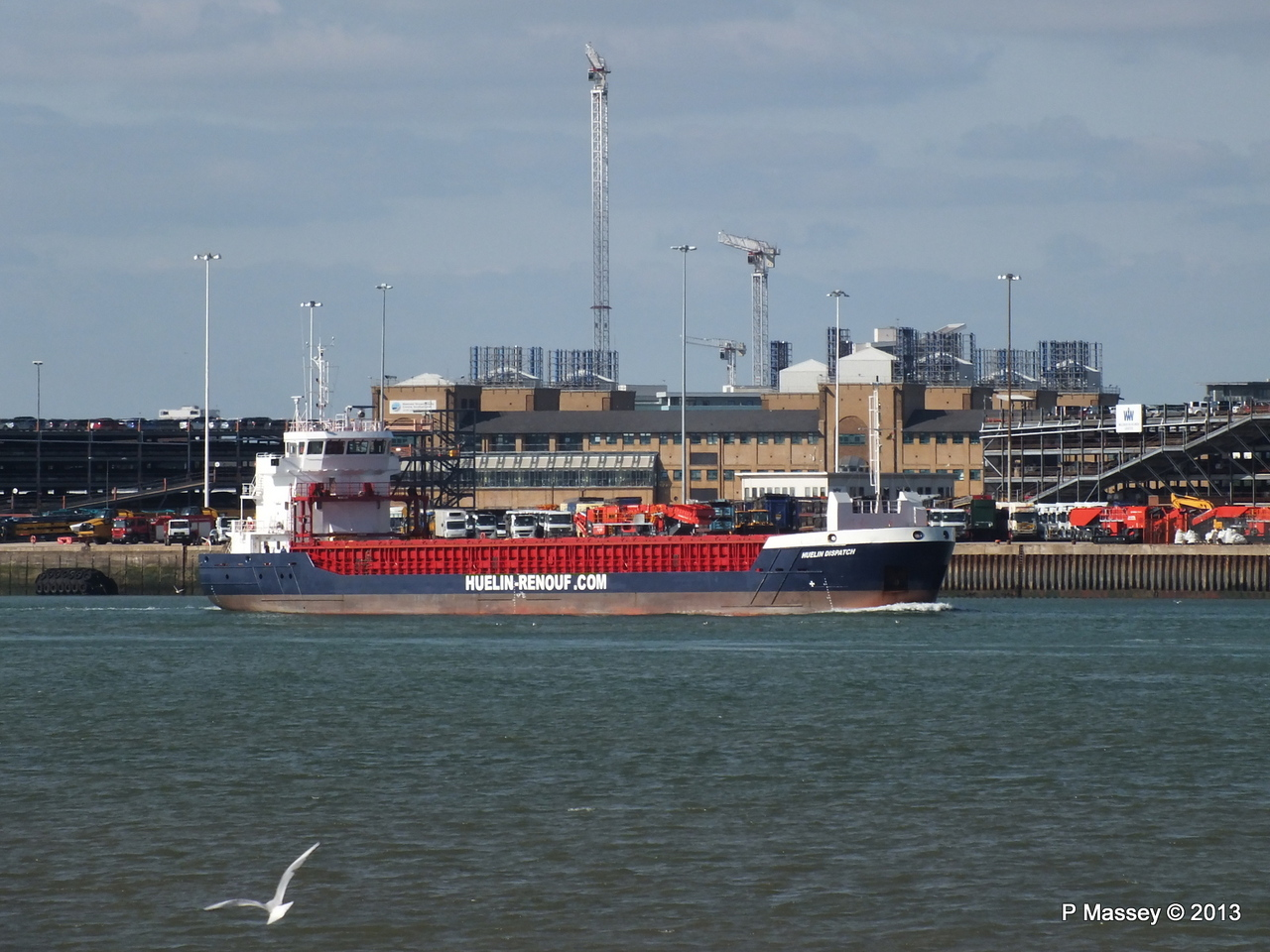 HUELIN DISPATCH Departing Southampton PDM 09-06-2013 17-28-56