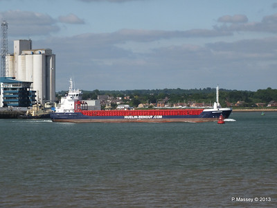 HUELIN DISPATCH Departing Southampton PDM 09-06-2013 17-30-19