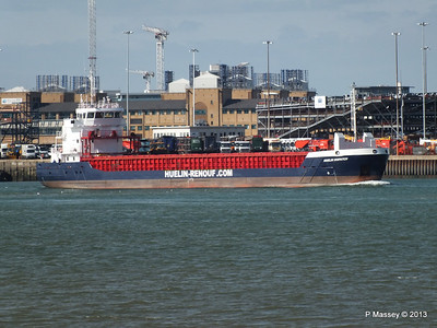 HUELIN DISPATCH Departing Southampton PDM 09-06-2013 17-29-04
