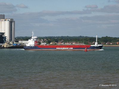 HUELIN DISPATCH Departing Southampton PDM 09-06-2013 17-30-21