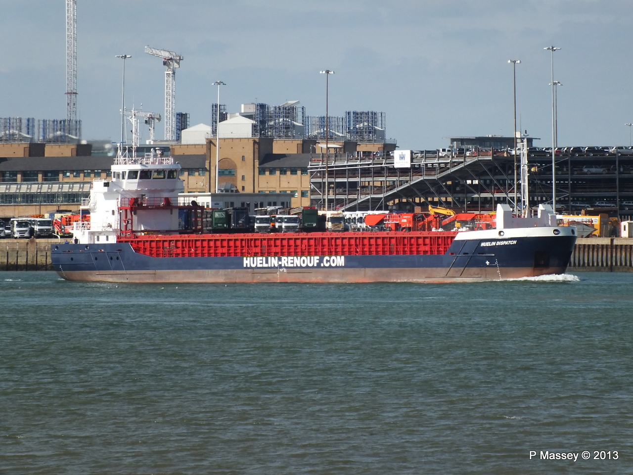 HUELIN DISPATCH Departing Southampton PDM 09-06-2013 17-29-07