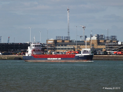 HUELIN DISPATCH Departing Southampton PDM 09-06-2013 17-28-54