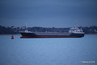VANGUARD arriving Southampton PDM 04-02-2016 15-01-02