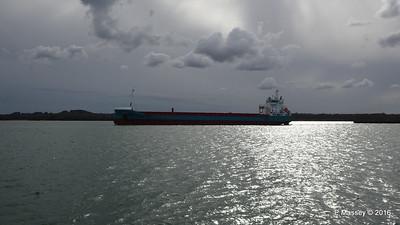 MERIDIAAN Departing Southampton PDM 14-04-2016 16-57-04