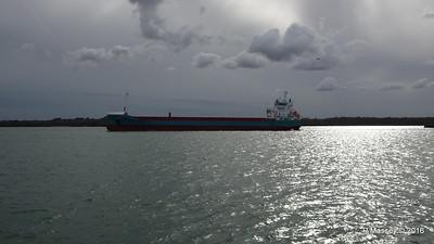 MERIDIAAN Departing Southampton PDM 14-04-2016 16-57-13