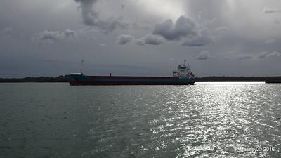 MERIDIAAN Departing Southampton PDM 14-04-2016 16-57-11