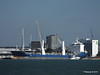 BBC MAPLE LEA Loading Yachts Southampton PDM 01-10-2015 13-49-20