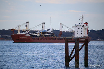ANJELIERSGRACHT with Yachts Inbound Southampton PDM 16-04-2016 18-47-42