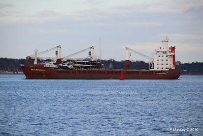 ANJELIERSGRACHT with Yachts Inbound Southampton PDM 16-04-2016 18-48-53