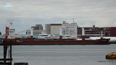 FLORAGRACHT Departing Southampton PDM 18-06-2016 17-12-14