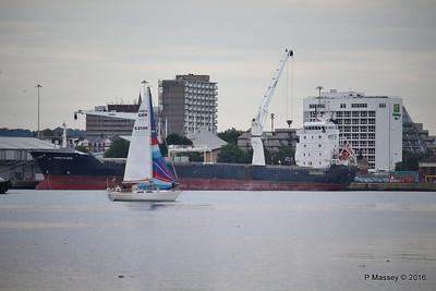 AMAYA Passing THORCO ATLANTIC Southampton PDM 10-08-2016 19-05-40
