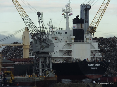 TOPFLIGHT at Berth Southampton PDM 17-12-2013 12-56-45