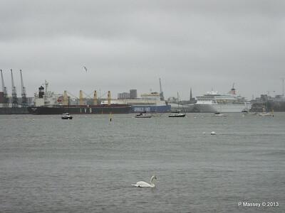 Rain Mist TOPFLIGHT Departing Southampton PDM 21-12-2013 13-27-55