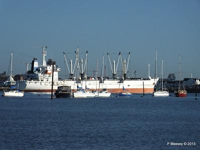 FRIO CHIKUMA Departing Southampton PDM 29-12-2013 12-49-09