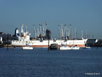FRIO CHIKUMA Departing Southampton PDM 29-12-2013 12-49-01