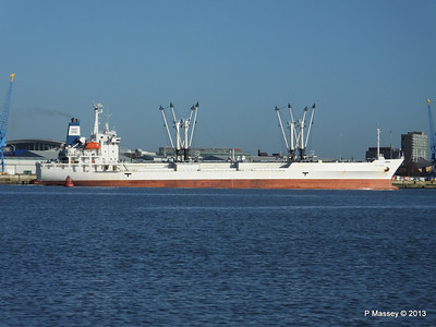 FRIO CHIKUMA Departing Southampton PDM 29-12-2013 12-47-44
