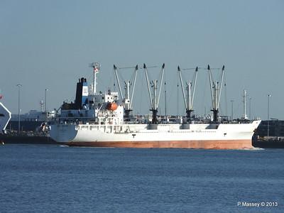 FRIO CHIKUMA Departing Southampton PDM 29-12-2013 12-50-50