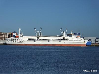 FRIO CHIKUMA Departs Southampton PDM 29-12-2013 12-46-40