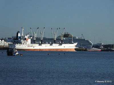 FRIO CHIKUMA Departing Southampton PDM 29-12-2013 12-50-05