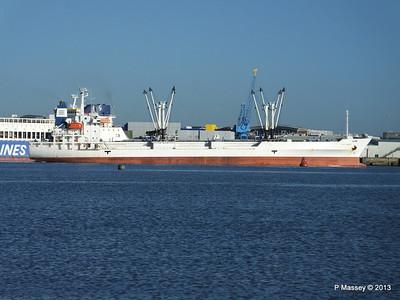 FRIO CHIKUMA Departs Southampton PDM 29-12-2013 12-47-13