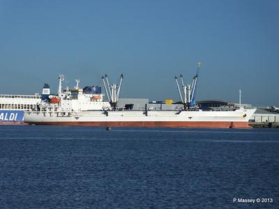 FRIO CHIKUMA Departs Southampton PDM 29-12-2013 12-47-09