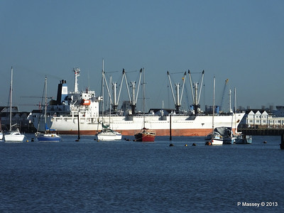 FRIO CHIKUMA Departing Southampton PDM 29-12-2013 12-49-29