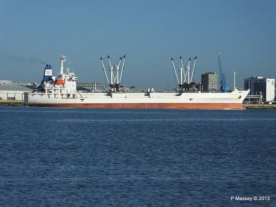 FRIO CHIKUMA Departing Southampton PDM 29-12-2013 12-47-52