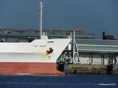 FRIO CHIKUMA Departing Southampton PDM 29-12-2013 12-47-24